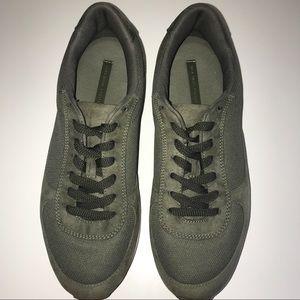 ZARA Military Green Platform Sneakers